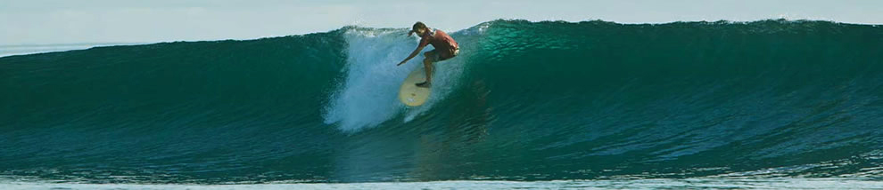 SurfingSolomonIslands | Surfer at Malaita Island